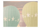 Vintage Star Balloons Prints by Ashley Davis