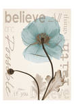 Believe Poppy Posters by Albert Koetsier