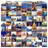 Many Photos of Many Places around the World Photographic Print by  olly2