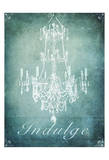 Spa Chandelier 2 Prints by Tina Carlson