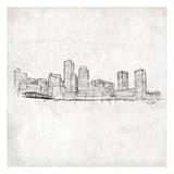 Skyline Print by  OnRei