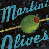 Martini Olives Prints by Aaron Christensen