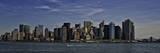 Lower Manhattan Skyline Print by Joseph Rowland