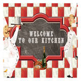 Welcome Prints by Elizabeth Jordan