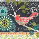 Chalk Bird II Prints by Jennifer Brinley