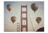 SF Balloons Prints by Ashley Davis