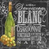 Chalkboard Wine I Posters by Geoff Allen