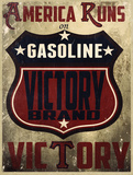 Victory Gas I Posters by Jason Giacopelli