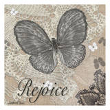 Butterfly Rejoice Poster by Lorraine Rossi