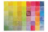 Color Blocks 2 Affiche par Beverly Dyer