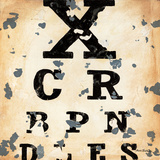Eye Chart Prints by Aaron Christensen
