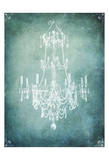 Spa Chandelier2 No Words Prints by Tina Carlson