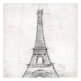 Eiffel Close Prints by  OnRei