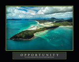 Whitsunday Island Opportunity Poster by Larry Malvin