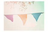 Vintage Bunting Hot Posters by Ashley Davis