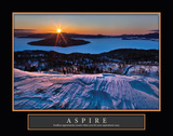 Bihoro Pass Aspire Prints by Larry Malvin