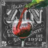 Chalkboard Wine IV Posters by Geoff Allen