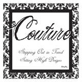 Couture Designs Poster by Melody Hogan