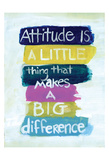 Attitude Print by Smith Haynes