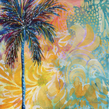 Tropical Dreamland II Art by Megan Aroon Duncanson