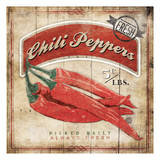 Chili Peppers Posters by Jace Grey