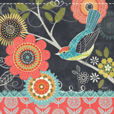 Chalk Bird IV Prints by Jennifer Brinley