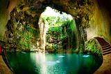 Ik-Kil Cenote, Chichen Itza, Mexico Photographic Print by Subbotina Anna