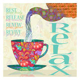 Relax Posters by Loren Guttormson Prince