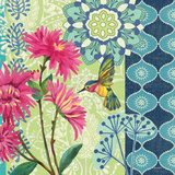 Jardin Bleu IV Prints by Jennifer Brinley