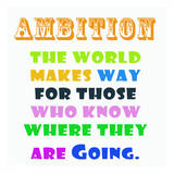 Ambition Art by Sheldon Lewis