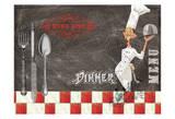 Dinner Posters by Elizabeth Jordan