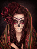 Sugar Skull Photographic Print by  jlombard