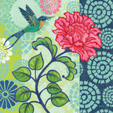 Jardin Bleu III Posters by Jennifer Brinley