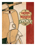 Hotel Italy Art by Jason Giacopelli