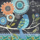 Chalk Bird I Print by Jennifer Brinley