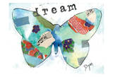 Dream Butterfly Pósters por Beverly Dyer