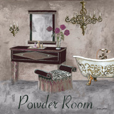 Powder Room Posters by Gregory Gorham