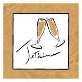 Jetaime Champagne Posters by  OnRei