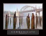 Siuslaw River Communicate Prints by Kathy Mahan