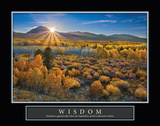 Eastern Sierra Wisdom Print by Mark Geistweite