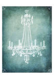 Spa Chandelier1 No Words Art by Tina Carlson