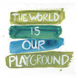 Play Ground Poster by Smith Haynes