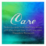 Care Plakaty autor Jace Grey