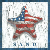 Patriotic Starfish Poster by Geoff Allen