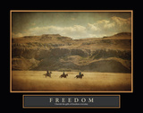 Wild West Freedom Prints by Roberta Murray
