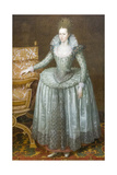 Anne of Denmark Giclee Print by John E. Ferneley