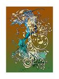 Paris Fleur 4 Prints by Atelier Sommerland