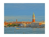 Venice San Marco with Snowcovered Alps III Giclee Print by Markus Bleichner