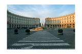 Piazza Della Repubblica in Rome, 1887 - 1898 Giclee Print by G. W Backhouse