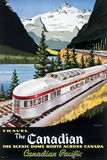 CP Train - Scenic Dome Prints